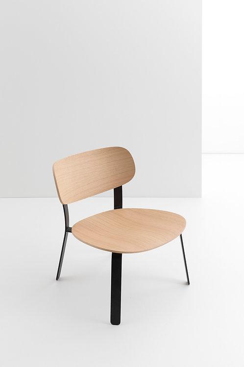 CRUSO Springback Lounge Chair Oak