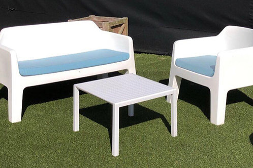 EXPO - OUTDOOR LOUNGE - PEDRALI PLUS SOFA SET +CUSHIONS