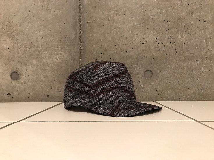 Bartending cap <Grey×Black×Red>