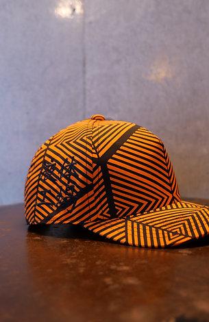 Bartending cap <Orange × Black>
