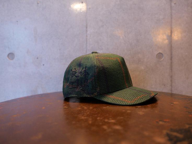 Bartending cap <Green × Orange × Yellow>