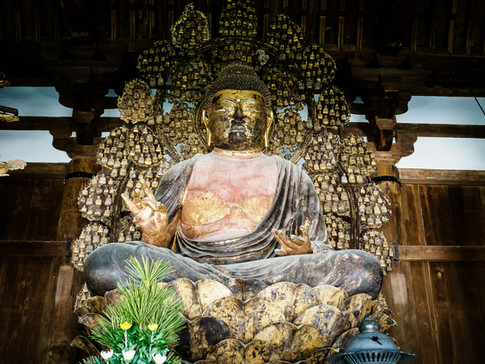 Buddha, Nara, Japan