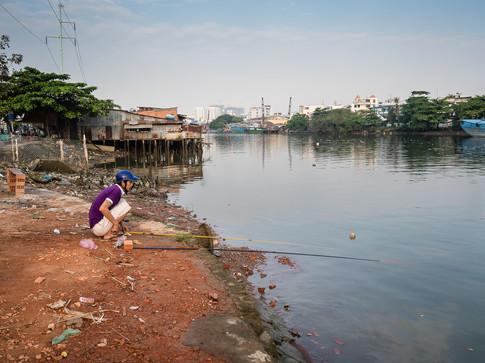 Sai Gon river, district 7
