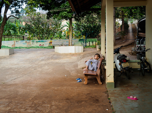 Luc Hoa Orphanage in Dinh An, Da Lat