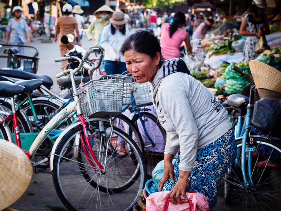 Morning market Hoi An