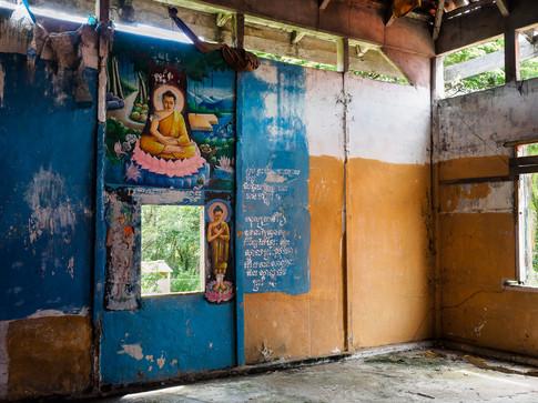 Old shrine in Soc Trang province