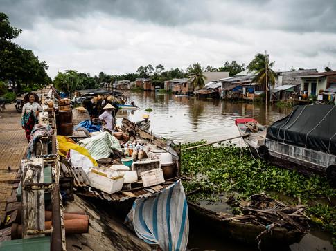 Along Mekong river