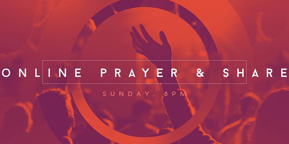 Sunday Evening Prayer & Share