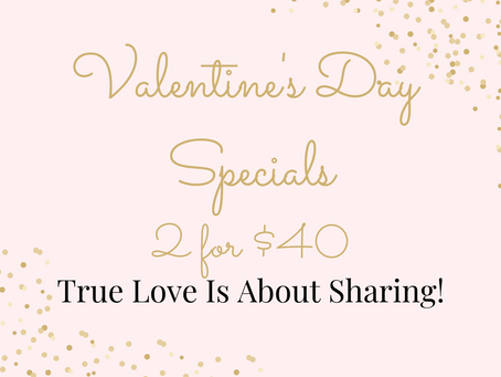 Valentine's Day 2 for $40 Deal