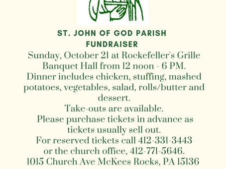 St. John of God Chicken Dinner