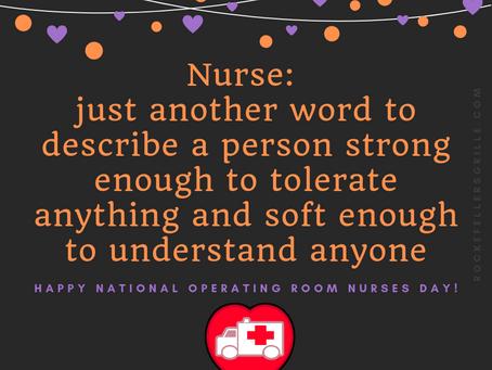 National Operating Room Nurses Day