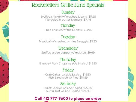 June Specials