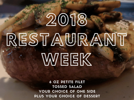 #RestaurantWeek2018