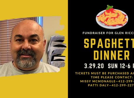 Fundraiser for Glen Ricciuti
