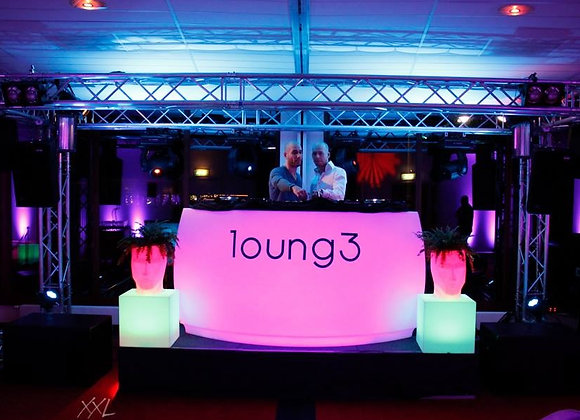 Led Bar Vondom Gebogen