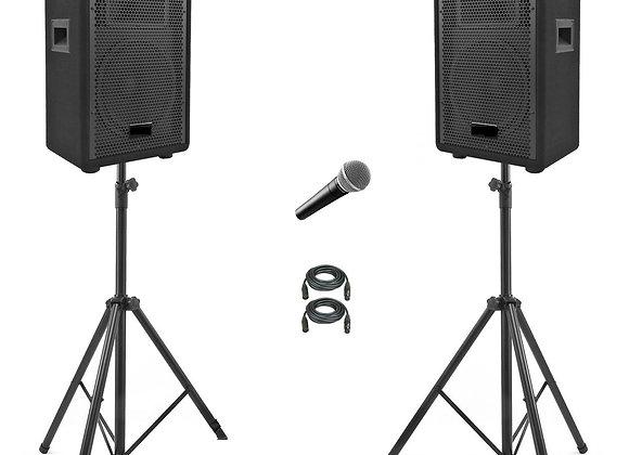 Speakerset incl. microfoon