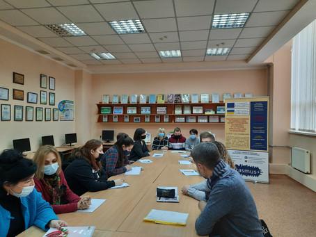 Засідання колегії ГО «Регіональний центр європейських освітньо-наукових ініціатив»