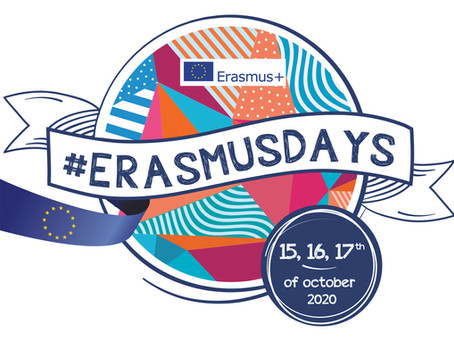 Флешмоб святкування Програми Еразмус+ у 2020 році