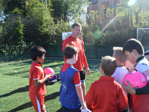 Record breaking Soccer School at Crawley Town