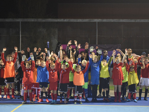 Crawley Town's Premier League Kicks sessions inspiring young people to achieve their potential