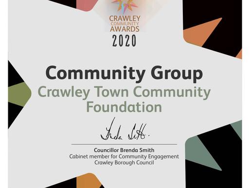 Crawley Town Community Foundation Awards 2020