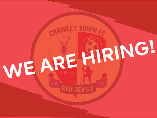 Opportunities at Crawley Town Community Foundation