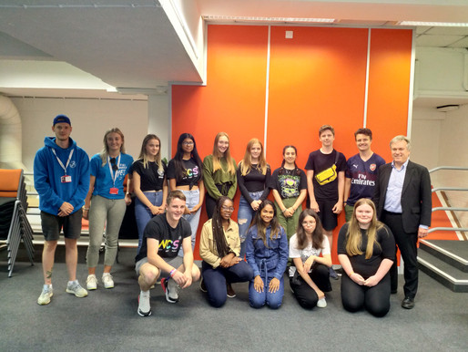 HENRY SMITH MP MEETS LOCAL TEENS ON NCS PROGRAMME IN CRAWLEY