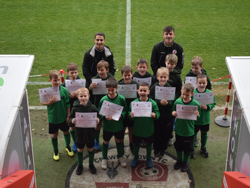 Premier League Primary Stars with Crawley Town