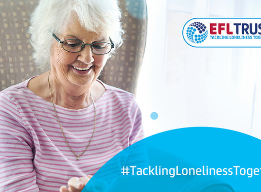 Crawley Town Community Foundation Tackles Loneliness