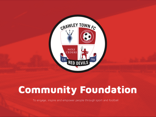 Reviewing the past season at Crawley Town Community Foundation