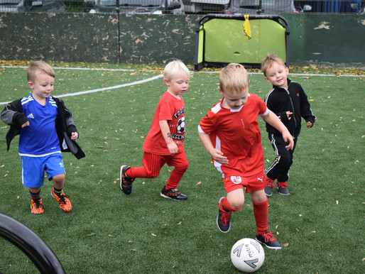 The arrival of our Virtual Mini Reds & Saturday Soccer Centre sessions