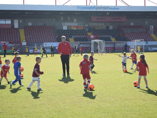 Sign up for Mini Reds and Saturday Soccer Centre this term!