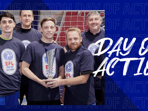 EFL DEMONSTRATES THE IMPORTANCE OF FOOTBALL'S COMMUNITY WORK DURING 2021 DAY OF ACTION