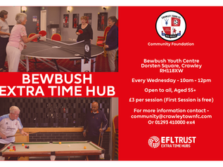 New Coffee Morning Launching in Bewbush