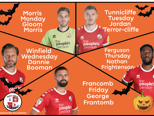 Sign up today for October Soccer Schools this Halloween!
