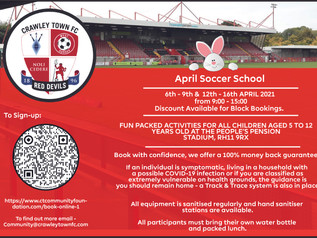 The Return of our Soccer Schools.
