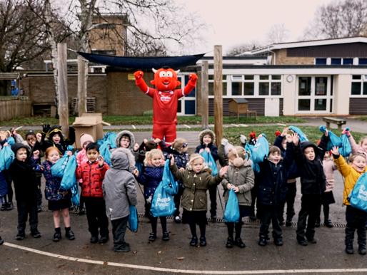 Shirts 4 Schools returns to Crawley Primary Schools