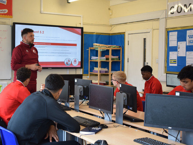 Read into our BTEC Education programme here at Crawley Town