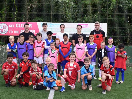 Summer Soccer Schools Success