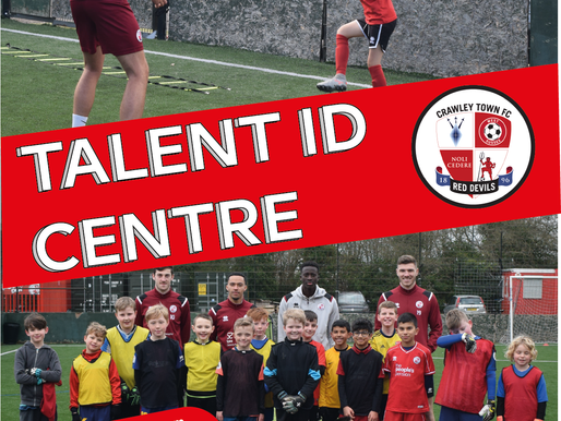 Talent ID Centres are back at Crawley Town!
