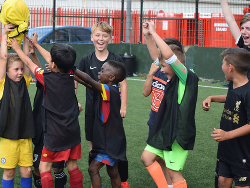 Who's ready for another Spooky Soccer School?