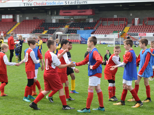 Crawley Town's Premier League programme Kicks-Off!