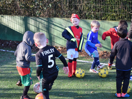 October Soccer Schools are over, but we still have Sessions!