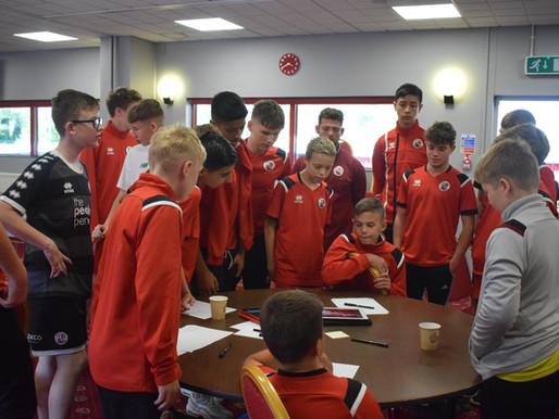 Premier League Kicks Youth Summit at Crawley Town