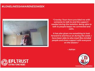 #LonelinessAwarenessWeek - Adrian