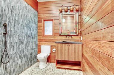 Ground Level - Pool Bathroom with Gorgeo