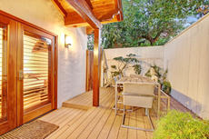 Ground Level - Private Patio from Master