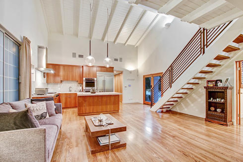 Ground Level - Two Story Ceilings Living