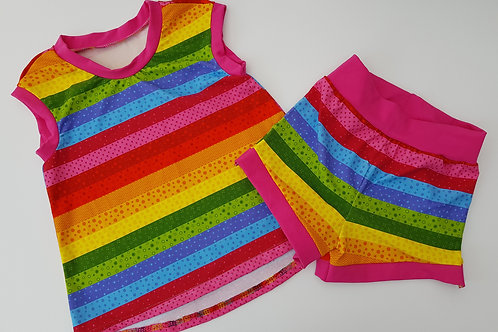 Sprinkles Tank and Shorts set