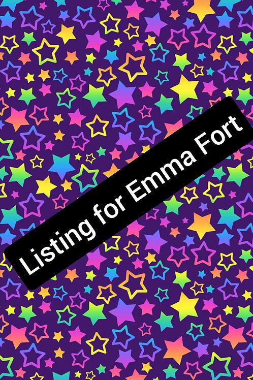 Listing For Emma Fort